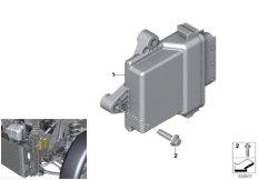 Control unit, heat pump