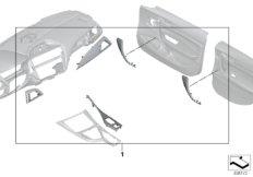 M Performance interior trims