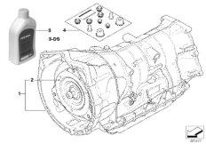 Automatic gearbox GA6HP19Z - 4-wheel