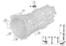 Mounting / suspension GS6-45BZ