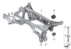 Rear axle carrier