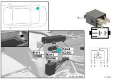 Relay, rotating beacons K441