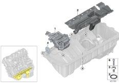 Lubrication system/Oil pump
