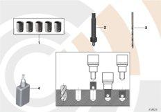 Repair kit, thread repair, thin wall