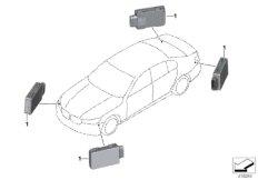 Sensor, lane change warning