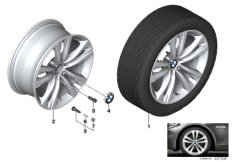 BMW LA wheel styling 610 - 19''
