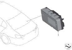Power distribution box, LIN module