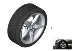 Winter wheel&tyre star spoke 654