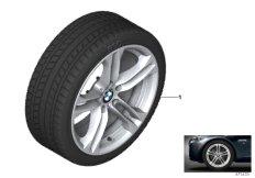 Winter wheel&tyre M double spoke 613M