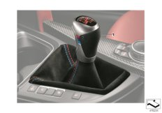 M Performance gearshift lever knob Pro
