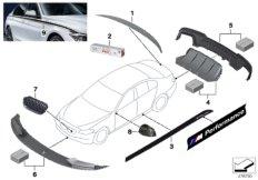 M Performance aerodynamics accessories