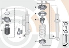 Installation kit support bearing