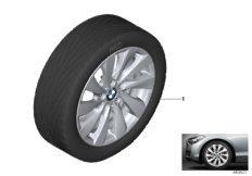 "BMW LA wheel turbine styling 381 - 17"""