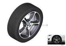 """BMW LA wheel star spoke 382 - 17"""""""
