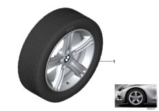 BMW LA wheel, star spoke 393 - 17''
