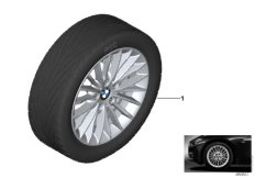 BMW LA wheel, multi spoke 414 - 17''