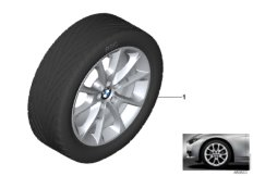 BMW LA wheel, V-spoke 398 - 18''