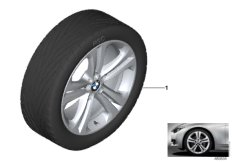 BMW LA wheel, double spoke 401 - 19''