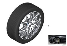 BMW LA wheel, star spoke 666M - 20""