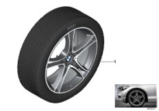 BMW LA wheel double spoke 361 - 20""