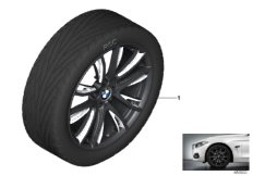BMW LA wheel M Perf. double spoke 624M