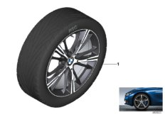 BMW LA wheel star spoke 660 - 20''