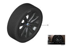 BMW LA wheel, V-spoke 413 - 17''