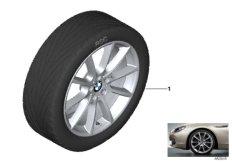 """BMW LA wheel, V-spoke 281 - 18"""""""