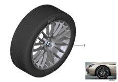 """BMW LA wheel cross-spoke 312 - 20"""""""