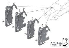 Holder, Body Domain Controller BDC