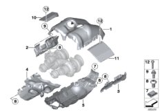 Turbocharger heat protection