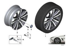 "BMW LA wheel double spoke 690 - 19"""