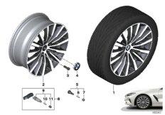 """BMW LA wheel W-spoke 731 - 19"""""""