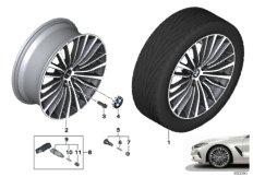 """BMW LA wheel multi spoke 700 - 20"""""""