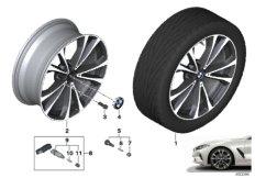 """BMW LA wheel V-spoke 733 - 20"""""""