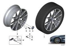 """BMW LA wheel V-spoke 728M - 20"""""""