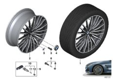 """BMW LA wheel multi spoke 729M - 20"""""""