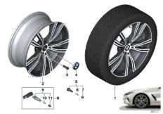 """BMW LA wheel V-spoke 730I - 20"""""""