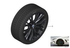 Winter wheel&tyre M double spoke 786M