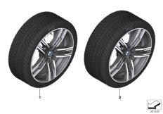 Winter wheel&tyre M double spoke 727M
