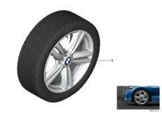 BMW alloy wheel M star spoke 386M 18''
