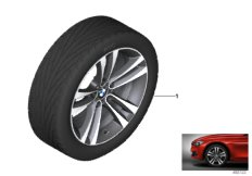 BMW LA wheel, double spoke 397 - 18''