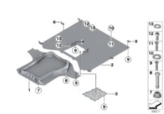 Underfloor coating