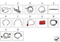 Supplementary cable sets