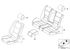 Lambskin seat cover